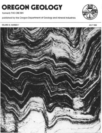Publication - Oregon Department of Geology and Mineral Industries