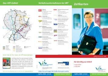 Verkehrsunternehmen im VRT