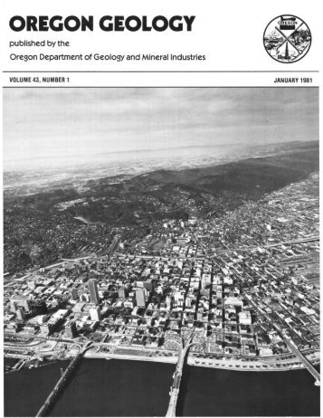 The petrology and stratigraphy of the Portland Hills Silt - Oregon ...