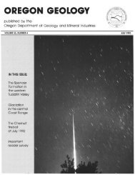 July 1993 - Oregon Department of Geology and Mineral Industries