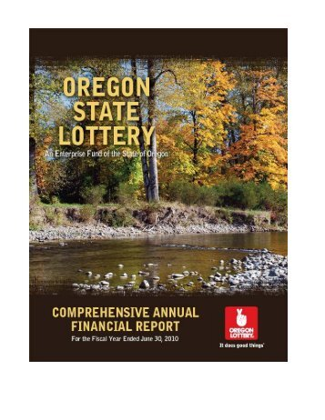 2010 - Oregon Lottery