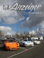 Jan/Feb 2013 Anzeiger - Oregon Region Porsche Club of America