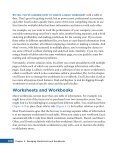 managing worksheets and workbooks - Page 5