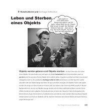 Leben und Sterben eines Objekts - beim O'Reilly Verlag