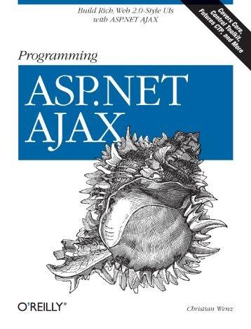 CHAPTER 4 Using ASP.NET AJAX JavaScript Extensions4