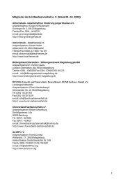 Mitglieder der LKJ Sachsen-Anhalt e. V. (Stand 01. 04 ... - Orfide.net