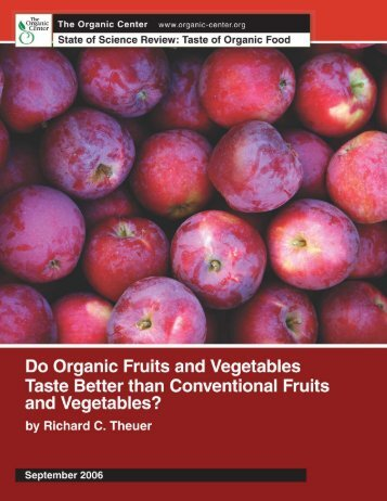 Executive Summary - The Organic Center