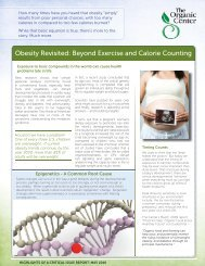 Obesity Revisited: Beyond Exercise and Calorie Counting