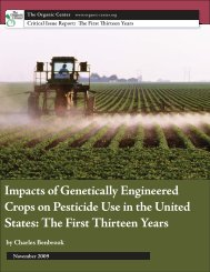 Impacts of Genetically Engineered Crops on Pesticide Use in the ...
