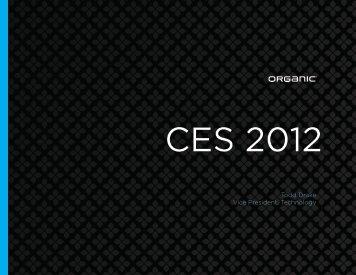 CES 2012 - Organic