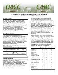 Soybean Pesticide Risk Reduction Survey