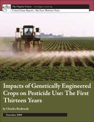Impacts of Genetically Engineered Crops on Pesticide Use: The First ...
