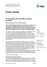 Food quality - Centre d'agriculture biologique du Canada