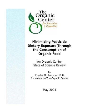 Minimizing Pesticide Dietary Exposure Through the Consumption of ...