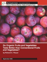 Do Organic Fruits and Vegetables Taste Better than Conventional ...