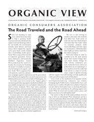 ORGANIC VIEW - Organic Consumers Association
