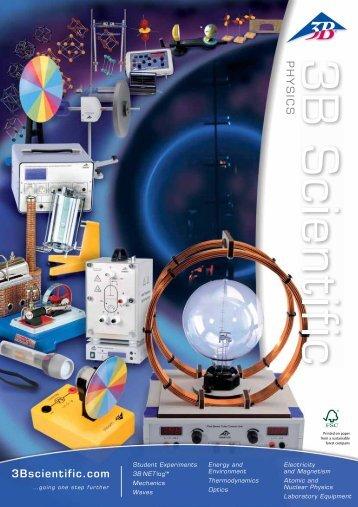 3B Scientific - Physics Catalog