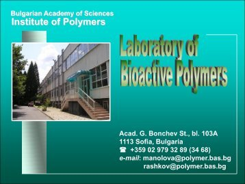 Institute of Polymers