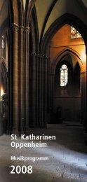 Konzerte - Kirchenmusik Sankt Katharinen