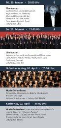 dozenten - Kirchenmusik Sankt Katharinen