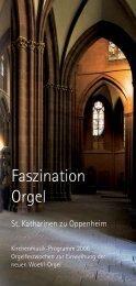 Musikprogramm 2006 (PDF) - Kirchenmusik Sankt Katharinen