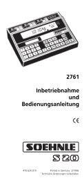 2761 - deutsch - Soehnle Professional