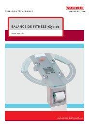 BALANCE DE FITNESS 7850.02 - Soehnle Professional