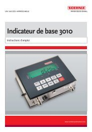 Indicateur de base 3010 - Soehnle Professional