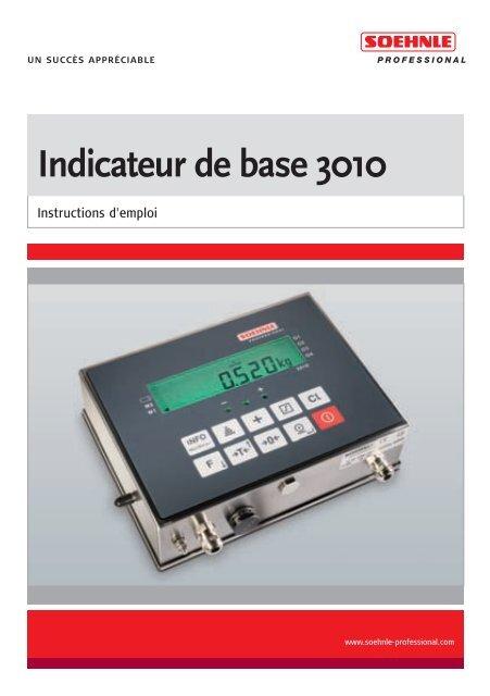 Indicateur de base 3010 - Soehnle Professional