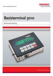 Basisterminal 3010 - Soehnle Professional