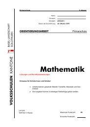 OA5 2010 Mathematik Lösungen - AVS
