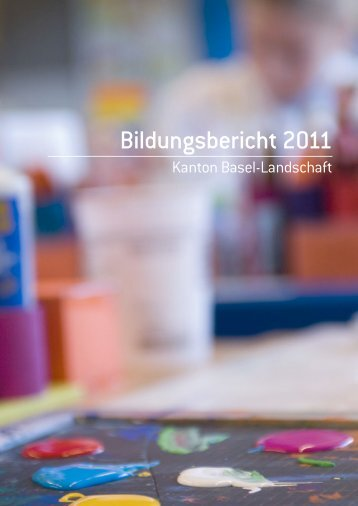 Bildungsbericht 2011 - Bundesamt für Statistik