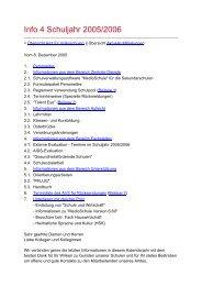 Info 4 Schuljahr 2005/2006 - Amt für Volksschulen