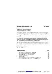 Nummer 3 Schuljahr 2007 / 08 17.12.2007 - AVS - Kanton Basel ...