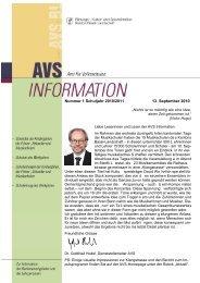information - AVS - Kanton Basel-Landschaft
