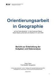 OA9 2009 Bericht Gloor - Amt für Volksschulen - Kanton Basel ...