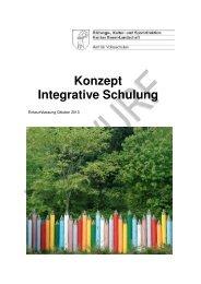 Konzept Integrative Schulung - Amt für Volksschulen - Kanton Basel ...