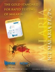 malaria Test Procedure - Doctorshop.it