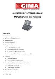 Manuale d'uso e manutenzione - Doctorshop.it