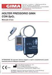 HOLTER PRESSORIO GIMA cOn SpO2 - Doctorshop.it