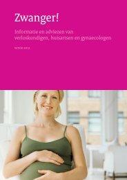 Zwanger! Algemene informatie (PDF) - Erfocentrum