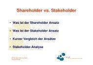 Stakeholder Value - OrgLab
