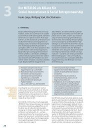 Der METALOG als Allianz für Sozial-Innovationen & Social ... - OrgLab