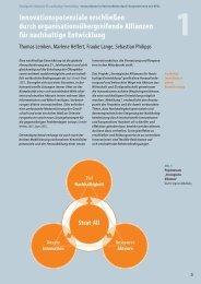 Innovationspotenziale erschließen durch ... - OrgLab