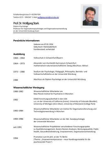 Curriculum Vitae (PDF) - OrgLab