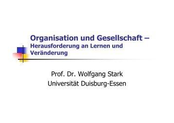 Organisation und Gesellschaft - OrgLab