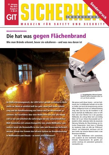 GIT Sicherheit + Management Nr. 5/12 - ORGLMEISTER Infrarot ...