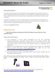 Newsletter Nr.4 - ORGLMEISTER Infrarot Systeme