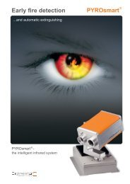 Early fire detection PYROsmart® - ORGLMEISTER Infrarot Systeme