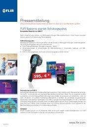 Pressemitteilung - ORGLMEISTER Infrarot Systeme
